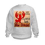 Crawfish Kids Sweatshirt