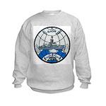 USS GLACIER Kids Sweatshirt
