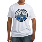 USS GLACIER Fitted T-Shirt