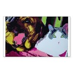 Two of a Kind Sticker (Rectangle 50 pk)