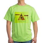 Happy Purim Green T-Shirt