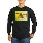 Happy Purim Long Sleeve Dark T-Shirt