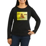 Happy Purim Women's Long Sleeve Dark T-Shirt
