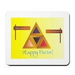Happy Purim Mousepad