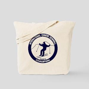 International Chinese Downhill Champion Tote Bag