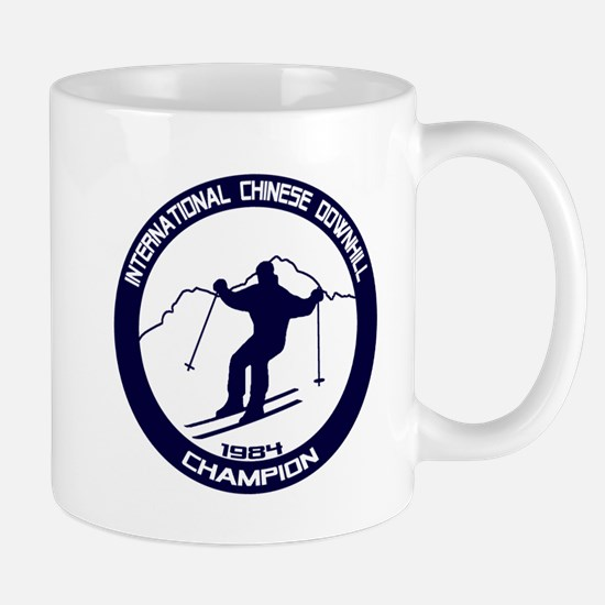 International Chinese Downhill Champion Mug