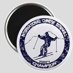 International Chinese Downhill Champion Magnet