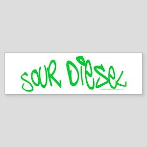 Sour Diesel Sticker (Bumper)