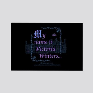 Victoria Winters Color Rectangle Magnet