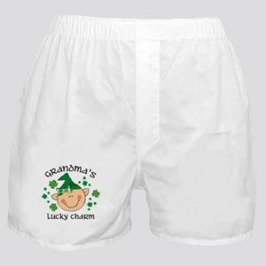 Grandma's Lucky Charm Girl Boxer Shorts