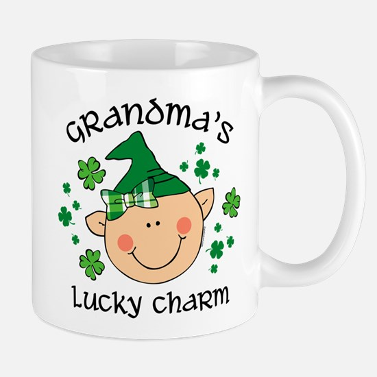 Grandma's Lucky Charm Girl Mug