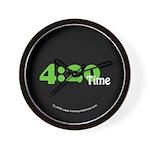 4:20 Time Wall Clock