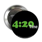 """4:20 Time 2.25"""" Button (100 pack)"""