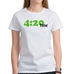 4:20 Time Women's T-Shirt