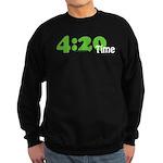 4:20 Time Sweatshirt (dark)