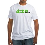 4:20 Time Fitted T-Shirt