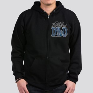 Saint Bernard DAD Zip Hoodie (dark)