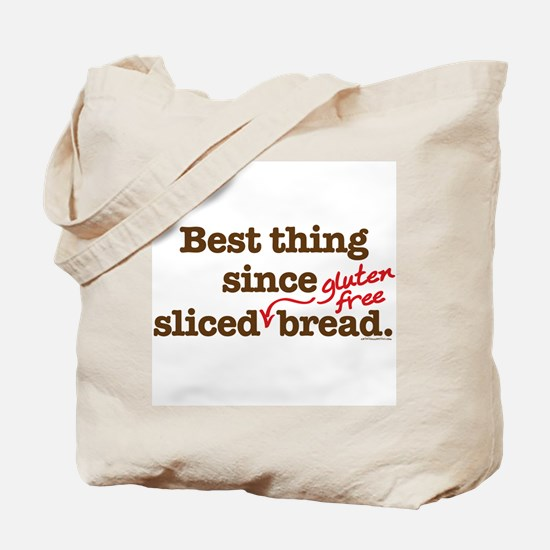 Best Thing Since Sliced GF Br Tote Bag