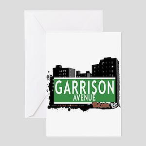 Garrison Av, Bronx, NYC Greeting Card