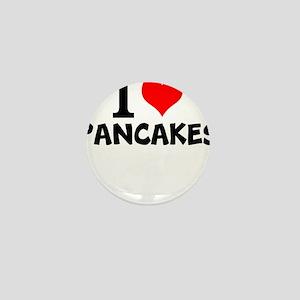 I Love Pancakes Mini Button