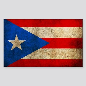 Puerto Rico Sticker (Rectangle)