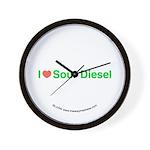 Heart Sour Diesel Wall Clock