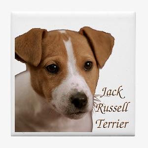 """Jack Russell Terrier"" Tile Coaster"