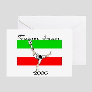 Team Iran '06 Greeting Cards (Pk of 10)