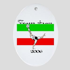 Team Iran '06 Oval Ornament