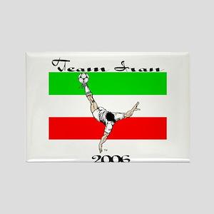 Team Iran '06 Rectangle Magnet