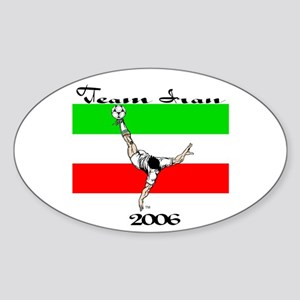 Team Iran '06 Oval Sticker