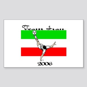 Team Iran '06 Rectangle Sticker