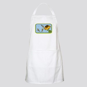 """""""Busy Bee Dachshunds"""" Dog BBQ Apron"""