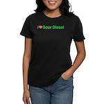 Heart Sour Diesel Women's Dark T-Shirt