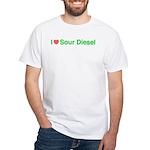 Heart Sour Diesel White T-Shirt