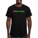 Heart Sour Diesel Men's Fitted T-Shirt (dark)