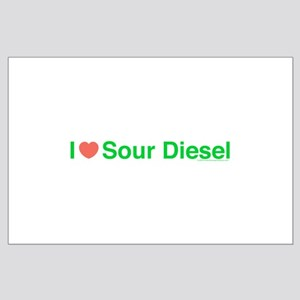 Heart Sour Diesel Large Poster