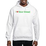 Heart Sour Diesel Hooded Sweatshirt