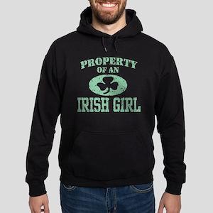 Property of an Irish Girl Hoodie (dark)