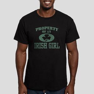 Property of an Irish Girl Men's Fitted T-Shirt (da