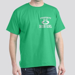 Property of an Irish Girl Dark T-Shirt