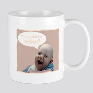 Abortion is NOT AN OPTION for BabyBigTalk Mug