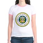 NAVAL SECURITY GROUP KAMISEYA Jr. Ringer T-Shirt