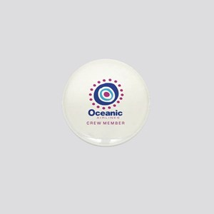 'Oceanic Airlines Crew' Mini Button