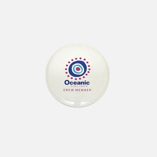 'Oceanic Airlines Crew' Mini Button