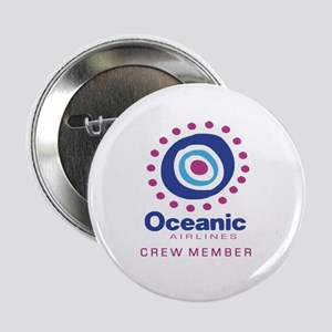 """'Oceanic Airlines Crew' 2.25"""" Button"""