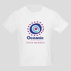 'Oceanic Airlines Crew' Kids Light T-Shirt