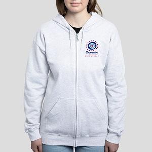 'Oceanic Airlines Crew' Women's Zip Hoodie