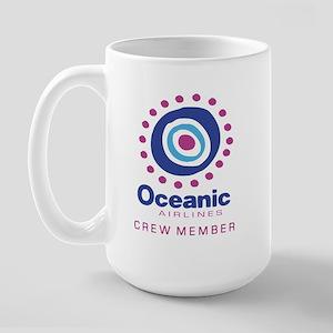 'Oceanic Airlines Crew' Large Mug