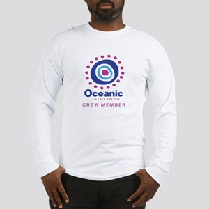 'Oceanic Airlines Crew' Long Sleeve T-Shirt